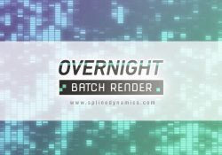 overnight batch render